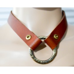 Discontinued Brown Drop Collar